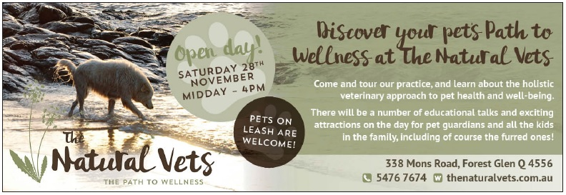 The Natural Vets - Open Day Invitation