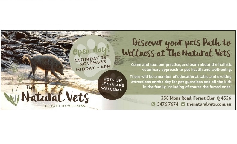 The Natural Vets - Open Day Invitation - Banner
