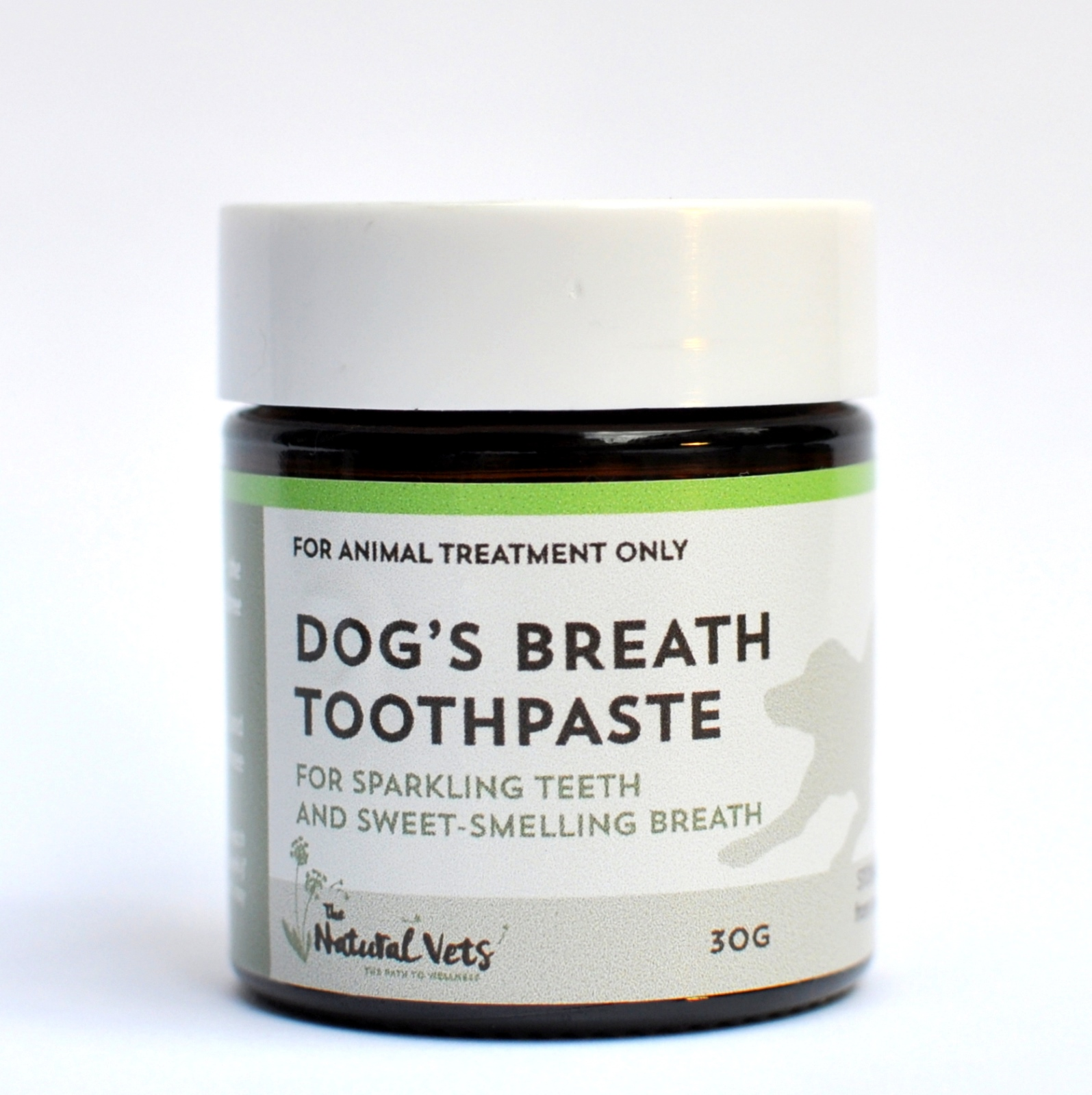 Dog's Breath Toothpaste - 30g - Sparkling Teeth and Sweet Smelling Breath